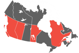 coverage doctr canada map
